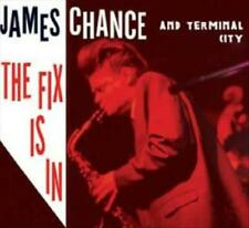 JAMES CHANCE/TERMINAL CITY - THE FIX IS IN [DIGIPAK] USED - VERY GOOD CD