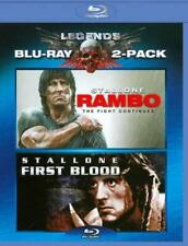 RAMBO: FIRST BLOOD/RAMBO: THE FIGHT CONTINUES USED - VERY GOOD BLU-RAY
