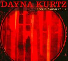 DAYNA KURTZ - SECRET CANON, VOL. 2 [DIGIPAK] USED - VERY GOOD CD
