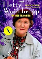 HETTY WAINTHROPP INVESTIGATES - COMPLETE FIRST SERIES USED - VERY GOOD DVD