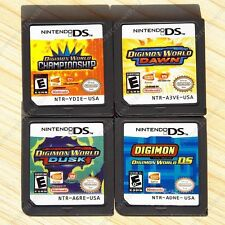 Digimon World Game Card Dusk Dawn ChampionShip Digimon DS Nintendo DS NDS DSI