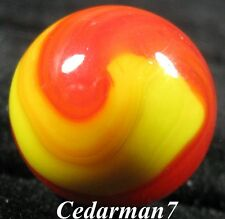 "Cedarman7; Beautiful Vintage 5/8"" Wet Mint (-) Akro Agate Prize Name Marble!"