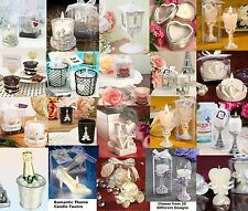 Romantic Themed Candle & tea Light Wedding Favors Table & Ceremony Decorations