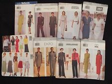 Lovely OOP 90s BUTTERICK Dress~Tops~Pants~Skirts & More PATTERNS Szs 6-8-10-12