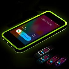 FLASH LIGHT LED INCOMING CALL SOFT CASE COVER FOR IPHONE 7 6S 6 PLUS SE 5S 5