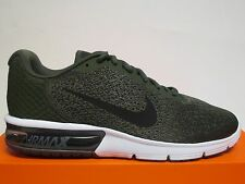 NIKE AIR MAX SEQUENT 2 (CARGO KHAKI/BLACK/OLIVE ) MENS RUNNING