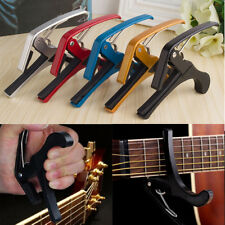Trigger Quick Change Key Tune Clamp Capo For Acoustic/Electric Guitar Ukulele