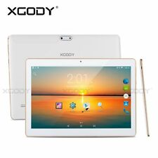 10 inch Google Android 4.4 Tablet PC 4Core 3G Phone Dual Sim GPS Unlocked 10.1''