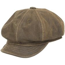 New  ENGLISH NEWSBOY ANTIQUE Leather Ivy Cap Hat