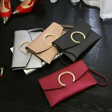 Womens Fashion Ladies Envelope Clutch Chain Purse Wallet Tote Shoulder Handbag