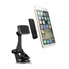 Car Phone Holder Windshield Magnetic Suction Cup Stand Mount for GPS Phone J1R8
