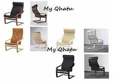 Ikea Poang Chair Only Black, Brown, Birch, White (Cushion Not Included) NEW