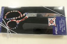 """Limited Edition Gingher """"Glory"""" Designer Series 8 inch Knife Edge Scissors"""