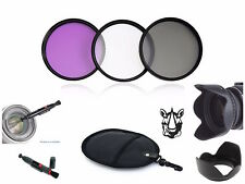 NY24 46mm Lens Hood Pen UV CPL FLD Filter Bundle For Digital Camera DV Camcorder