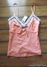 OLD NAVY ~ NEW! NWT Size S or L ~ Peachy Rose Lace Trimmed Tencel Cami Tank