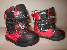 Snow boots Boys Spiderman boots Boys snow boots  Snow boots Toddler 5 or 6