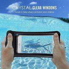 Underwater Waterproof Bag Dry Pouch Case Cover iPhone 6s 7 Plus Galaxy S8 / Plus