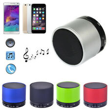 Mini Bluetooth Stereo Metal Wireless HiFi Handsfree Speaker With Mic And TF Slot