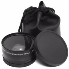NZ6 52mm Supplement Macro w/ 0.45X HD Super Wide Angle Lens For Camera Camcorder