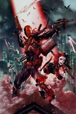 DC Comics Suicide Squad Deathstroke & Harley Quinn Poster 61x91.5cm