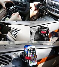 1pc Auto Cup Holder+Adjustable Car Drink Stand Cell Phone Holder Air Vent Mount