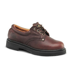 "Mens Brown 4"" Slip-Resistant Leather WP Work Shoes BONANZA 415 Size 6-12 (D, M)"