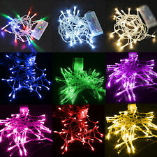 20/30/40/80 LED String Fairy Lights Battery Operated Wedding Party XMAS Decor