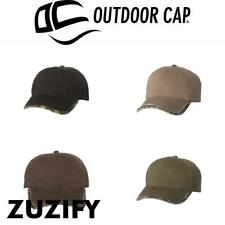 Outdoor Cap Frayed Trim Camo Cap. GWTC200