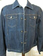 GORGEOUS Iceberg Jeans Denim Jacket Coat Made in Italy 56 XL
