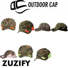 Outdoor Cap Frayed Camouflage Baseball Cap. BSH600