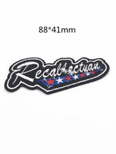 DIY  Sewing Embroidery On Patch Stickers  Embroidered Fabric Applique FA-139