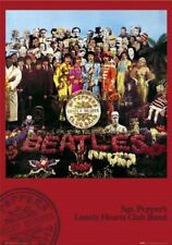 New Sgt. Pepper's Lonely Hearts Club Band Album Cover The Beatles Poster