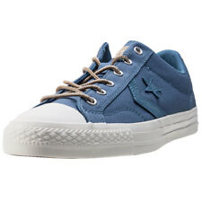 Converse Star Player Ox Mens Blue Canvas Casual Trainers Lace-up New Style