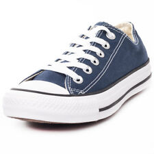 Converse Chuck Taylor All Star Lo Mens Blue Canvas Casual Trainers Lace-up