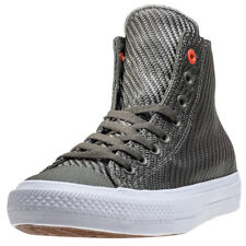 Converse Chuck Taylor Allstar Ii Hi Mens Olive Canvas Casual Trainers Lace-up