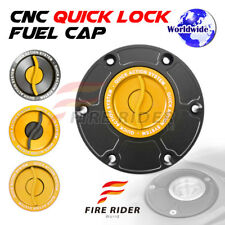 Gold Quick Lock Fuel Cap For Triumph Daytona 955i 98-06 01 02 03 04 05