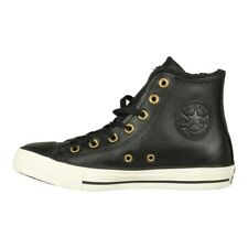 Converse Women's Shoes Trainers Chuck Taylor All Star Hi Interior Fur Black