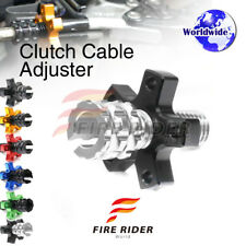 FRW 6Color CNC Clutch Cable Adjuster For Kawasaki Ninja ZX-10R 08-10 08 09 10