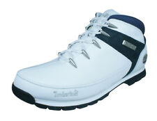 Timberland Euro Sprint Mens Leather Boots - White