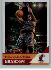 2017-18 Hoops Shaquille O'Neal NBA 2K Basketball Cards Pick From List