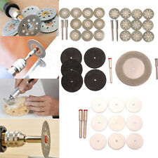 Diamond Coated Cutting Grinding Wheel Discs with Mandrel for Power Rotary Tools