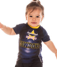 NRL North QLD Cowboys 2017 Kids Supporter T-Shirt  Sizes 1 - 4