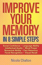 Improve Your Memory by Chalton, Nicola Paperback Book The Fast Free Shipping