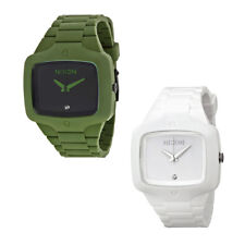 Nixon Rubber Player White Mens Watch - Choose color