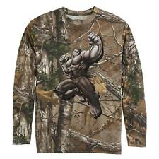 Marvel Boys The Incredible Hulk Realtree Camouflage Long Sleeve T-Shirt