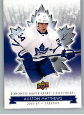 2017-18 Upper Deck Toronto Maple Leafs Centennial Pick From List (Includes SPs)