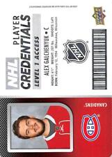 2017-18 Upper Deck MVP NHL Player Credentials Level 1 Access Pick From List