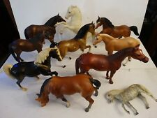 10 Vintage breyer horse horses lot pony played with no boxes