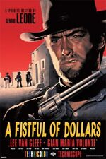 New A Fistful of Dollars Clint Eastwood Poster