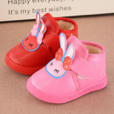 New Cute Rabbit Infant Baby Winter Shoes Toddler Girl Snow Boots Cotton Shoes